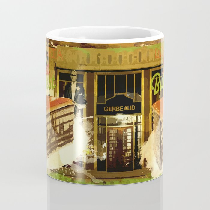 Sweet Budapest – Dobostorta cake at the Gerbeaud Coffee Mug