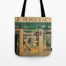 Yellow Bike Tote Bag