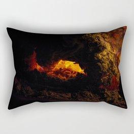 Fire Pit Rectangular Pillow