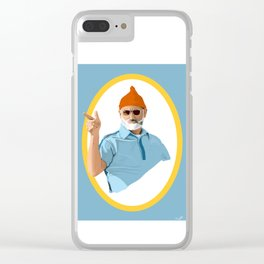 Bill !*#@ing Murray Clear iPhone Case