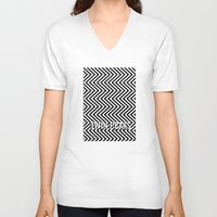 twin peaks V-neck T-shirts featuring Twin Peaks by Spyck