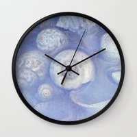 shells Wall Clocks featuring shells by Claudia Drossert