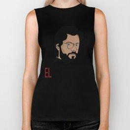 LA CASA DE PAPEL tee shirt El Profesor Biker Tank