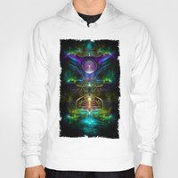 neon Hoodies featuring Neon by Manafold Art