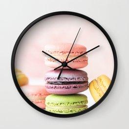 Macaroons Wall Clock