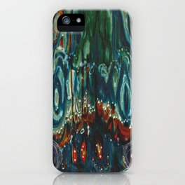 Pulse of Kelp (Sonic Sea Surge) iPhone Case