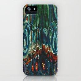 Pulse of Kelp (Sonic Sea Surge) iPhone Case