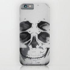 the 4i skull stencil art 1 iPhone 6s Slim Case