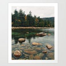 Jordan Pond Art Print