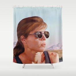 Sarah Connor Shower Curtain