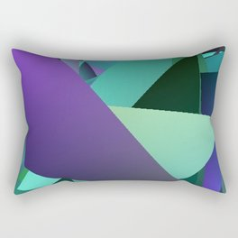 Beach Glass 2 Rectangular Pillow