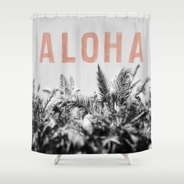 Aloha Palms Shower Curtain