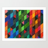 Pattern #1 Tiles Art Print
