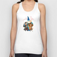 harry potter Tank Tops featuring Harry Potter Hug by Super Group Hugs