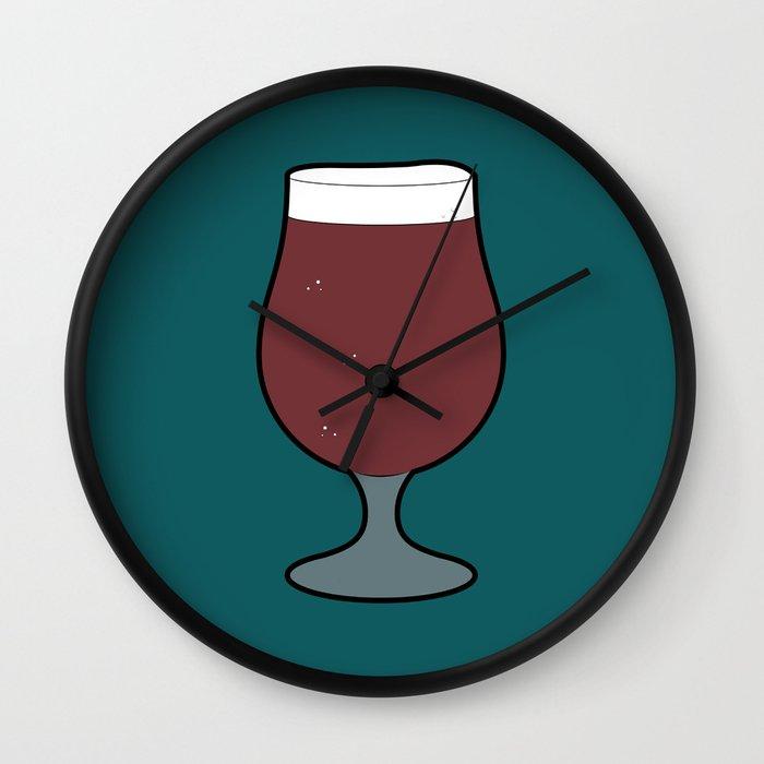 Beer Glass (Tulip) Wall Clock