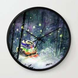 Firefly Princess Wall Clock