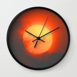Saharan Sun Wall Clock