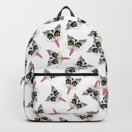 Kiss Cat Head Backpack