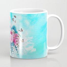 FLORAL FLAMINGO Coffee Mug