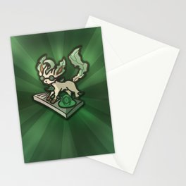 DJ Leafeon Stationery Cards
