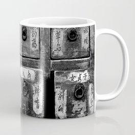 Chinese Medicine Cabinet Coffee Mug