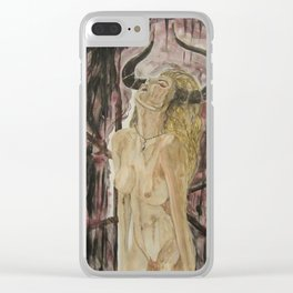Exalted Clear iPhone Case