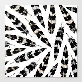 Viking Feather Canvas Print