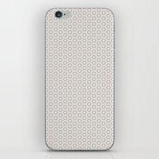 Hexagon Light Gray Pattern iPhone & iPod Skin