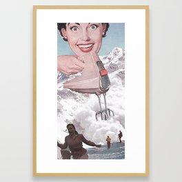 Doris Whisker Framed Art Print