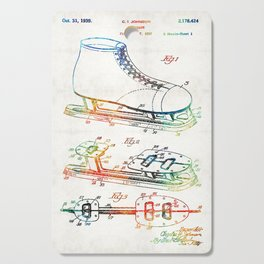 Ice Skate Patent - Sharon Cummings Cutting Board