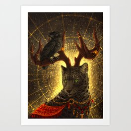 The Secret Keeper Art Print