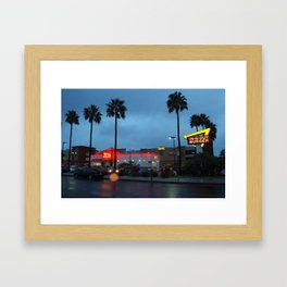 in n out Framed Art Print