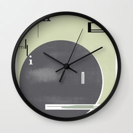 For the Millionth Time... Wall Clock