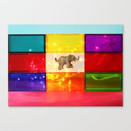 Floating Elephant Canvas Print