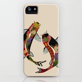 koi chamomile iPhone Case