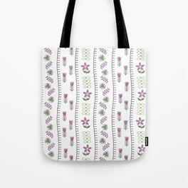 Classic Embroidery Tote Bag