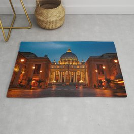 Papal Basilica of St. Peter in the Vatican Rug