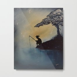 Adventures of Huckleberry Finn by Mark Twain Metal Print