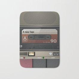 Casette Tape Player Bath Mat
