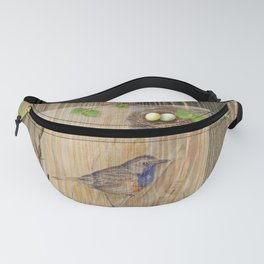 Bird and Spring Nature Collection Fanny Pack