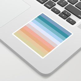 Multicolor Stripes - Tiyanak Sticker
