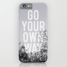 Go Your Own Way II Slim Case iPhone 6s