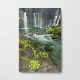 I - Shiraito Falls near Mount Fuji, Japan Metal Print