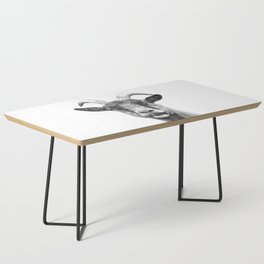 Black and White Goat Coffee Table