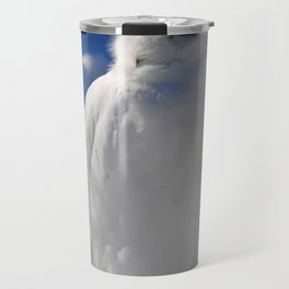 Snowy in the Snow by Teresa Thompson Travel Mug