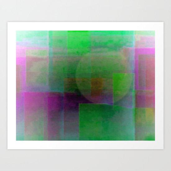 Colorful Times Art Print