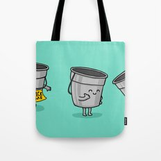 Kick the Bucket Tote Bag