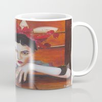medicine Mugs featuring Medicine Woman by Michael Diggs