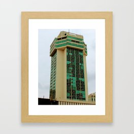 Lonely tower Framed Art Print