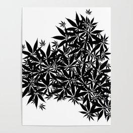 grass illusion Poster